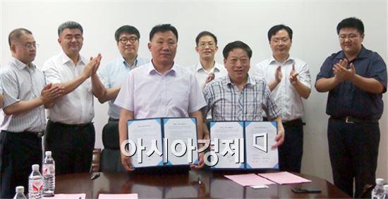 호남대총동창회는 중국  후난대총동창회와 교류협약을 체결했다.