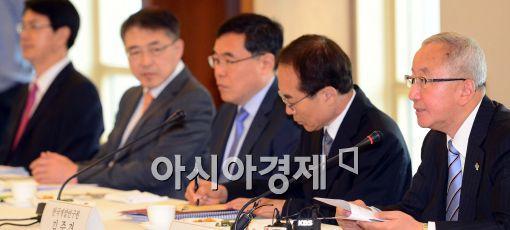 [포토]모두발언하는 현오석 기획재정부 장관