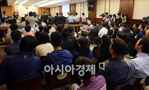 ▲세월호 유가족, 오정현 조광작 목사 명예훼손 혐의로 고소