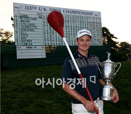 113번째 US오픈 우승자 저스틴 로즈. 사진=Getty images/멀티비츠