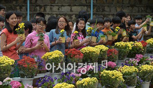 [포토]꽃사랑 농업사랑 체험교육