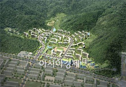 구룡마을 개발사업 조감도(예시도) (자료제공 : 서울시)