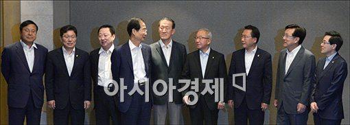 [포토]현오석 부총리, 마지막 회의