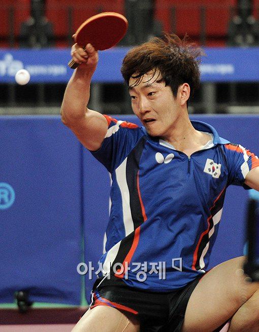 [포토]김민석, '파워 넘치는 드라이브'