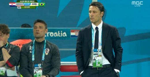 ▲크로아티아 니코 코바치 감독(사진:MBC 방송화면 캡처)