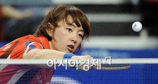 [포토]서효원,'네트를 살짝 넘기는 리시브'