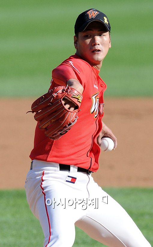 [포토]김광현,'연패탈출 위해 에이스 출격'