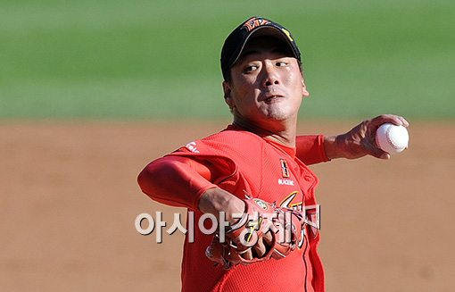 [포토]김광현,'더 이상 연패는 없다!'