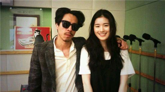 ▲김C와 정은채 (사진: KBS 쿨FM '김C의 뮤직쇼' 트위터 캡처)