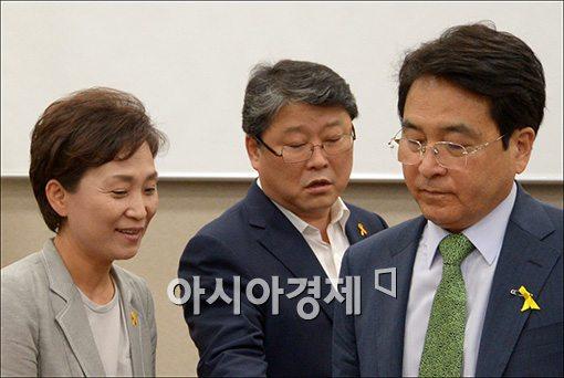 [포토]서로 다른 표정의 세월호 국정조사