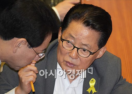 방북 명단서 쏙 빠져…통일부, 박지원 의원 방북 불허한 이유 들어보니