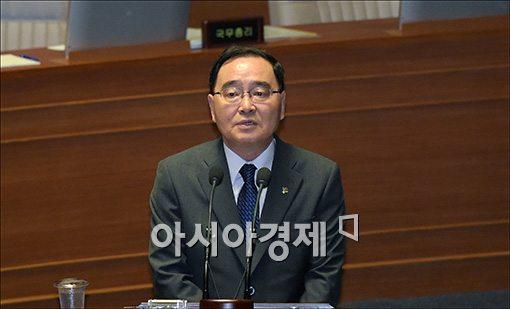 [포토]답변하는 정홍원 총리