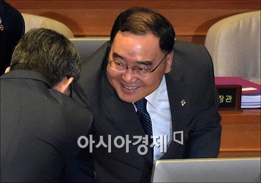 [포토]마지막 대정부질문 참석