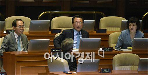 [포토]대정부질문 출석한 국무위원들