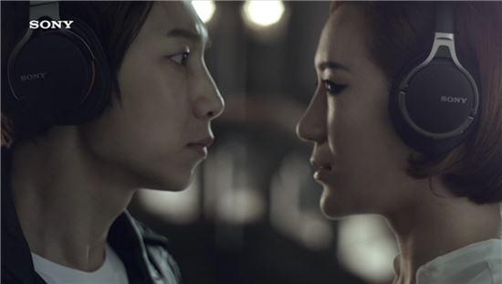소니코리아, 댄싱9 출연진과 함께한 새 광고 공개