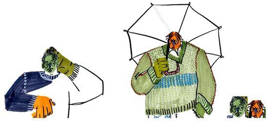 ▲'일단띄워' 제작진에서 일베 논란을 해명하기 위해 제시한 일러스트 이미지. (사진: SBS 'SNS 원정대 일단 띄워' 홈페이지 캡처)