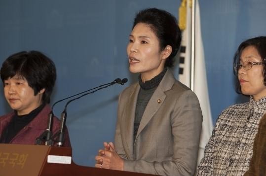 ▲한정애 새정치민주연합 의원