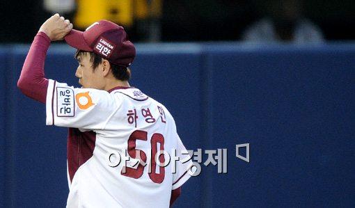 [포토]하영민,'오늘 감이 좋아요'