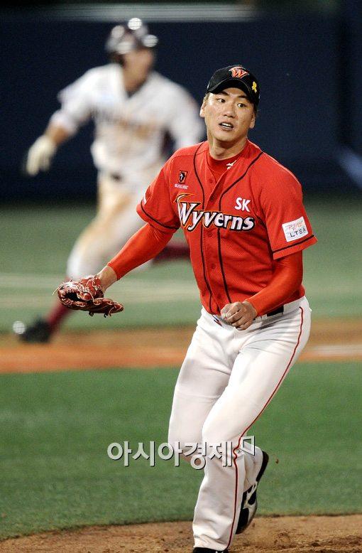 [포토]김광현,'누가 잡을건가요'