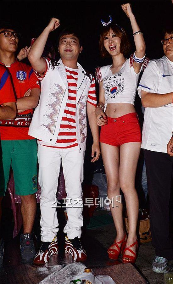 가수 박현빈과 윤수현