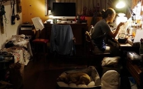 ▲이효리가 블로그를 통해 작업실을 공개했다.(사진:이효리 블로그)