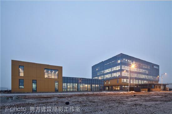 만도 중국 연구개발센터 전경