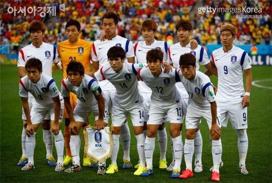 한국 축구대표팀[사진=Getty Images/멀티비츠]