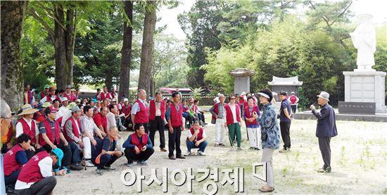 장흥문화원은 최근 문화원 회원400여명이 참석한 가운데 2014년 장흥문화원 문화가족 유적지 순례를 실시했다.