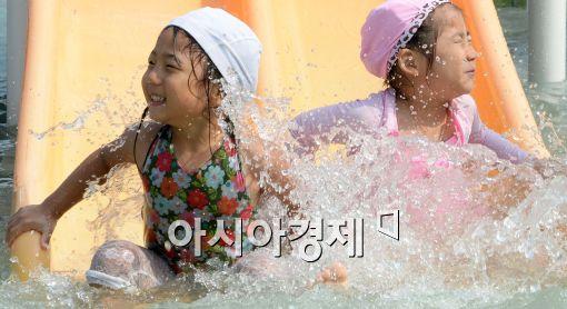 [포토]즐거운 물놀이