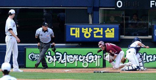 [포토]강정호,'난 이미 들어왔어'