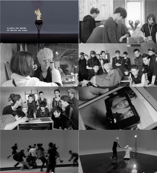 엔소닉 '빠삐용' 뮤직비디오 비하인드 영상 /C2K엔터테인먼트 제공