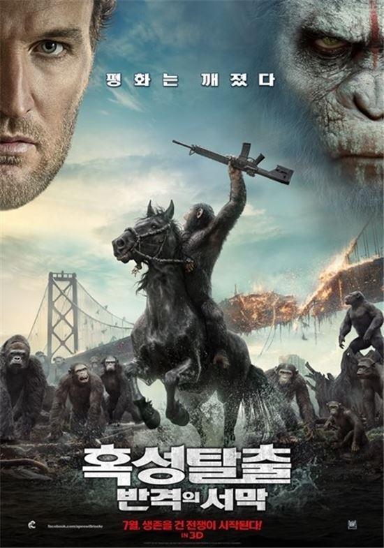 영화 '혹성탈출:반격의 서막'