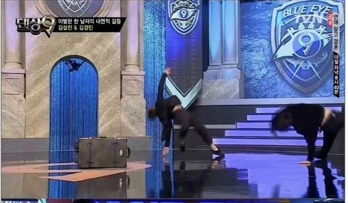 ▲ 댄싱9 김설진(사진:Mnet 댄싱 9 캡처)