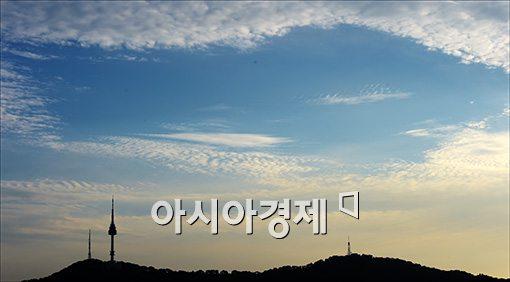 [포토]태풍이 지나간 하늘