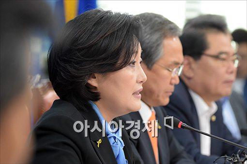 """박영선 """"정성근 위증, 용납할 수 없어"""""""