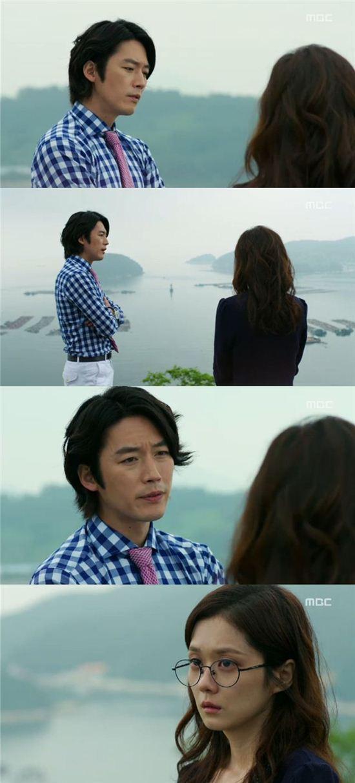 김미영(장나라 분)에게 프로포즈하는 이건(장혁 분)/MBC '운널사' 방송 캡쳐