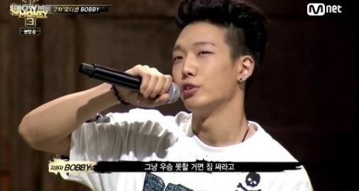 '쇼미더머니3'에 출연중인 YG엔터테인먼트의 연습생 바비가 양현석 대표의 말을 전했다.
