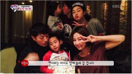 타블로의 딸 하루와 강세미의 아들 소현이 광고 모델로 발탁됐다.(사진: KBS2 '슈퍼맨이 돌아왔다' 캡처)