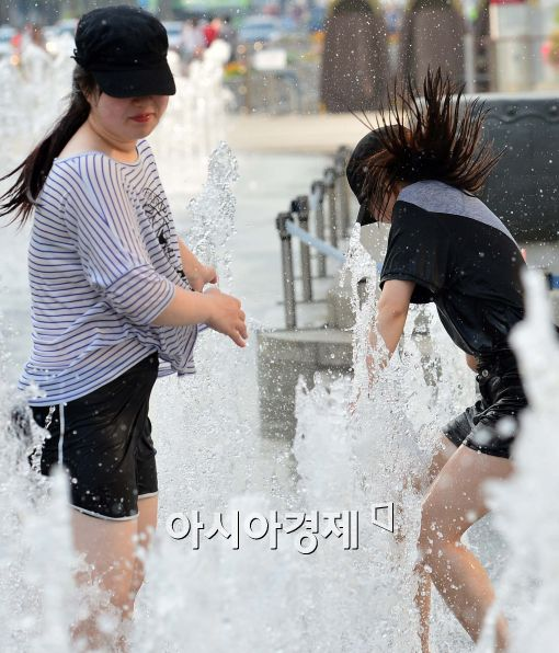 [포토]시원한 물놀이
