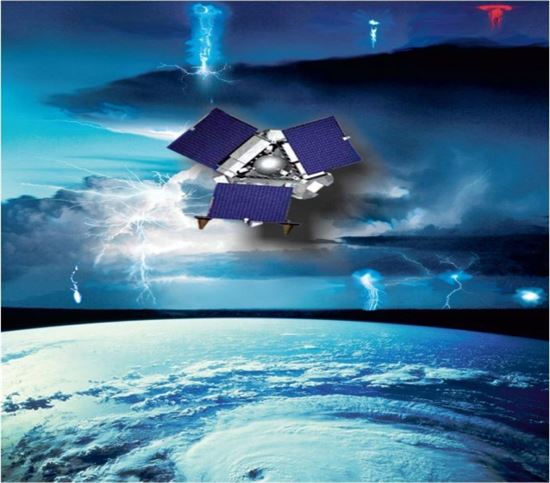 ▲MTEL-2는 우주선과 메가번개의 연관성을 규명할 예정이다.[사진제공=미래부]