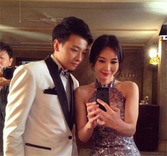 신주아와 남편 라차나쿤 (사진: 신주아 인스타그램)