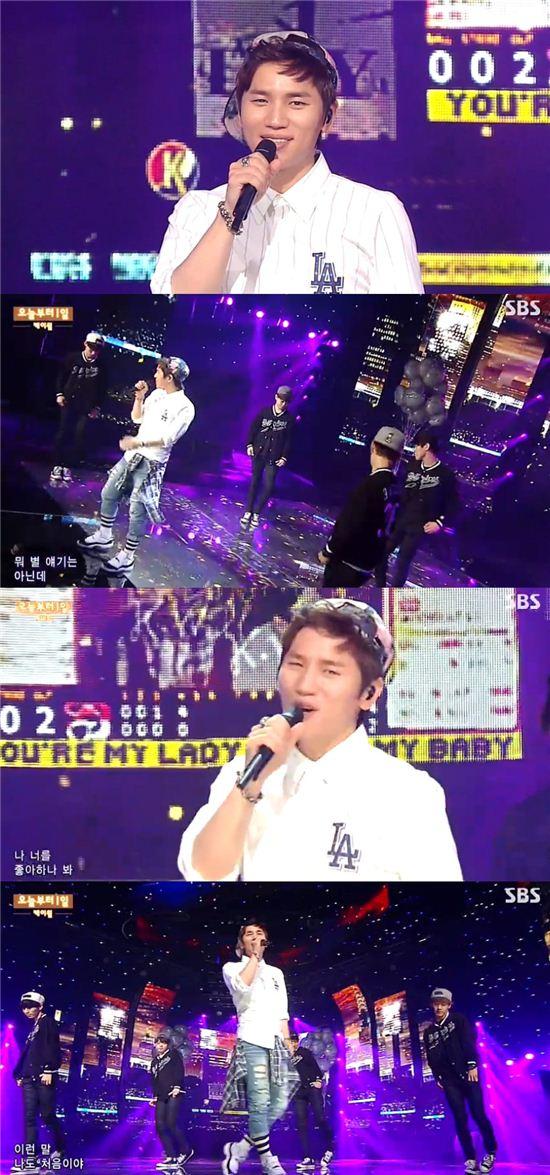 케이윌 / 사진 SBS 방송 캡처