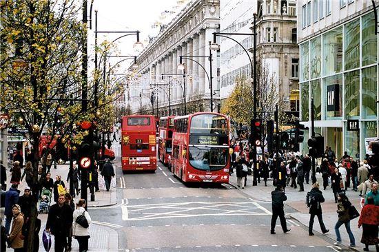 런던 옥스포드 거리(사진=위키피디아)