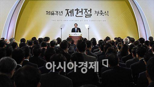 [포토]축사하는 정의화 국회의장