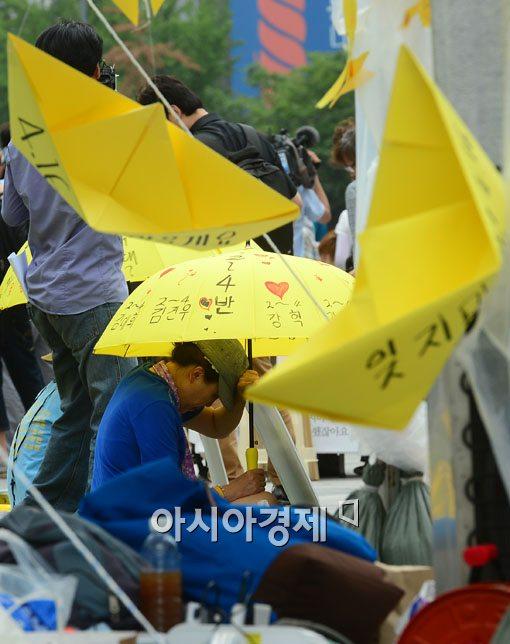 유족 가슴에 '대못' 박는 정치권 '세월호 막말' 어디까지