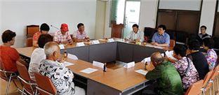 장흥군은 절임배추 생산농가 간담회를 개최했다.