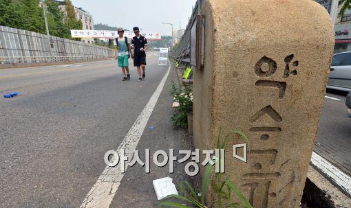 [포토]약수고가차도 철거 전 걸어보는 시민들