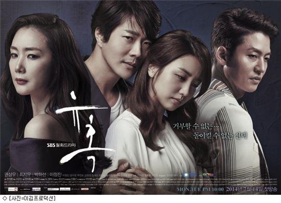 SBS '유혹' 포스터