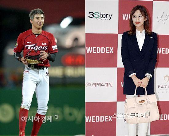 야구선수 이대형과 가수 한영이 열애설을 부인했다.
