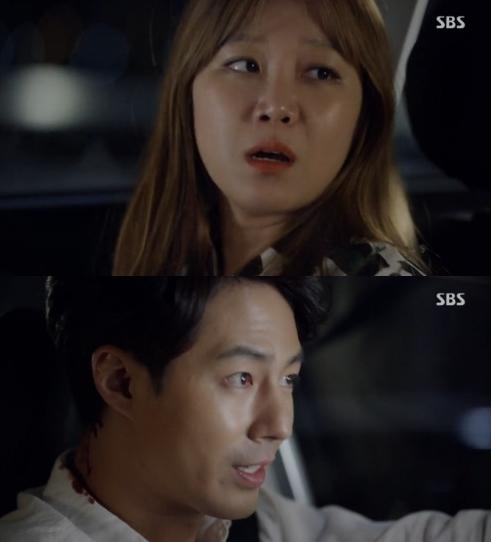 '괜찮아 사랑이야'에 출연중인 조인성 공효진(사진:SBS 괜찮아 사랑이야 캡처)